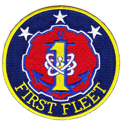 1st Fleet Patch Insignia