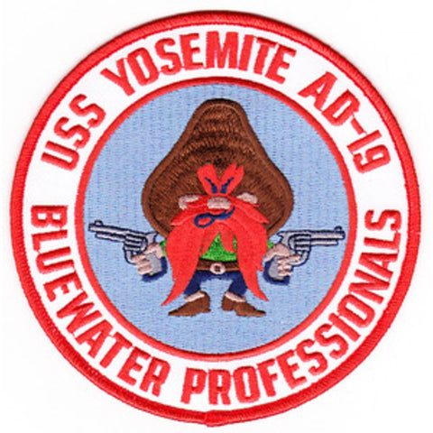AD-19 USS Yosemite Destroyer Tender Patch - B Version