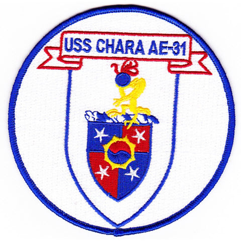 AE-31 USS Chara Patch