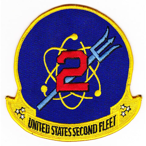 2nd Fleet Patch-Blue FIELD