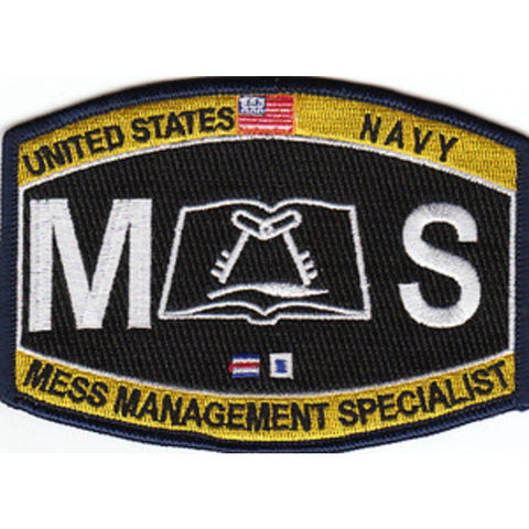 MS - Mess Management Navy Rating Patch
