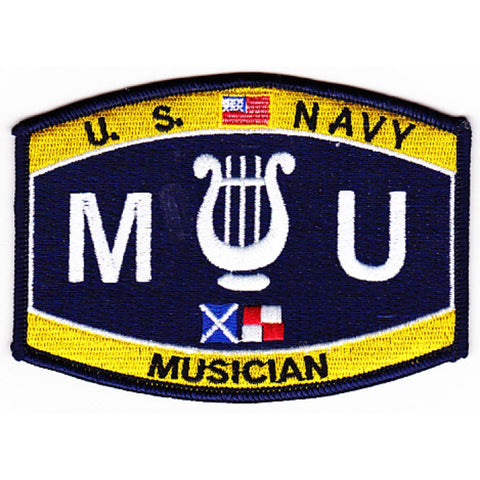 MU - Musician Navy Rating Patch