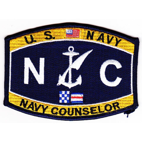 NC - Navy Counselor Navy Rating Patch