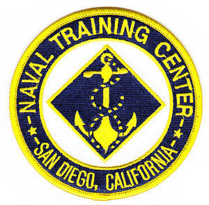NTC San Diego, California Naval Training Center Patch