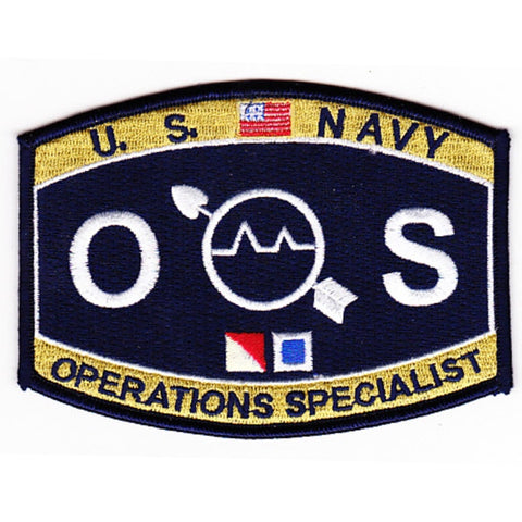 OS - Operations Specialist Navy Rating Patch