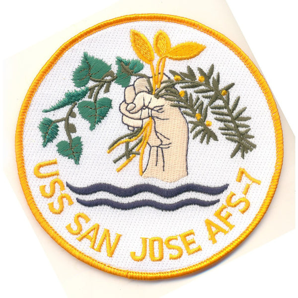 Afs 7 Uss San Jose Patch Usnavypatch Com