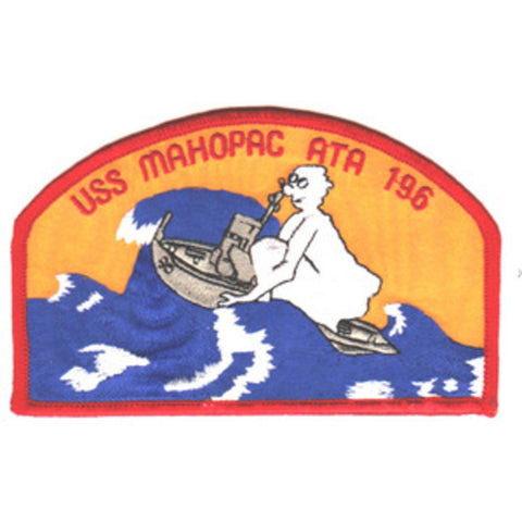 ATA-196 USS Mahopac Patch - Version A
