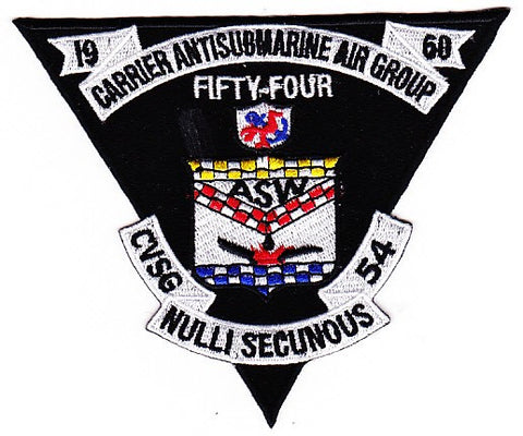 CVSG 54 Carrier Antisubmarine Air Group Fifty Four Patch