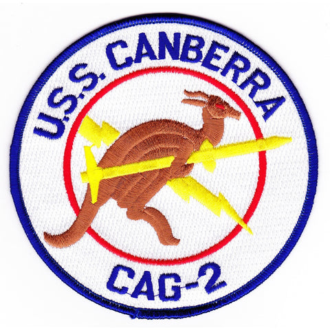 CAG-2 USS Canberra Patch