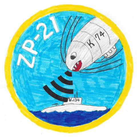 ZP-21 Aviation Airship Patrol Squadron Two One Patch