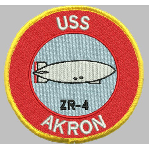 ZR-4 USS Akron Patch