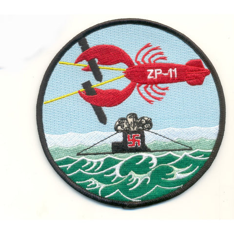 ZP-11 Aviation Airship Patrol Squadron Eleven Patch