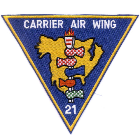 CAW-21 Carrier Air Wing Patch