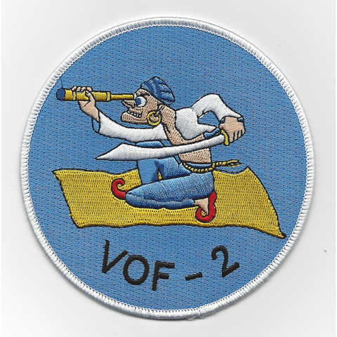 Fighter Observation Squadron VOF-2 WWII Patch