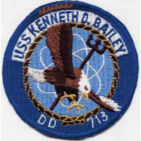 DD-713 USS Kenneth D Bailey Patch