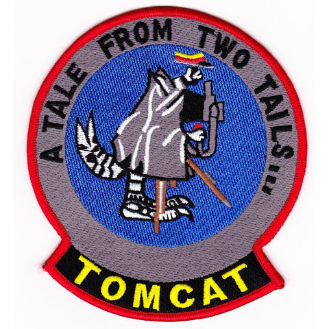 F-14 Tomcat Patch - A Tale From Two Tails