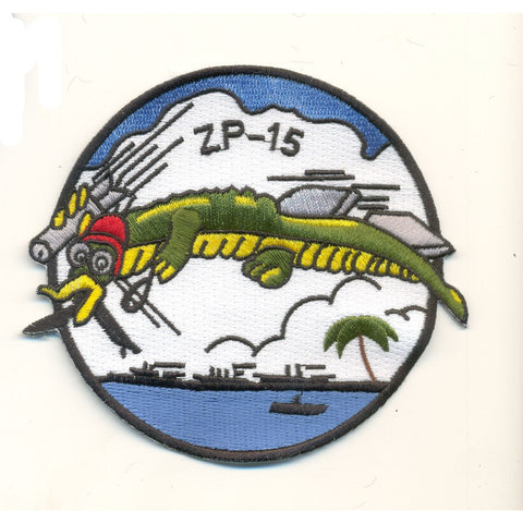 ZP-15 Aviation Airship Patrol Squadron Fifteen Patch