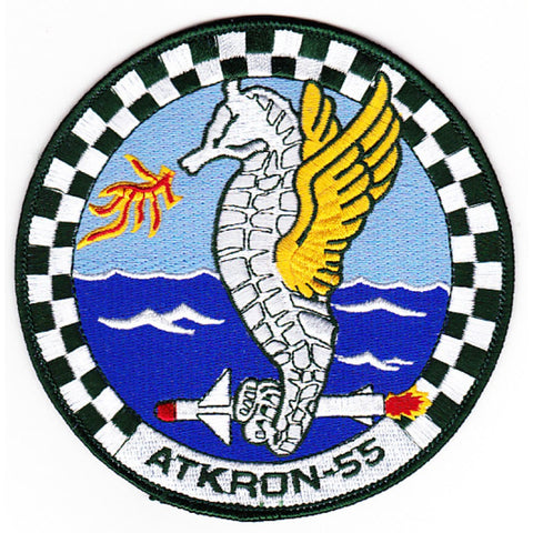 ATKRON-55 VA-5 Patch Warhorses