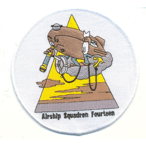 ZP-14 Aviation Airship Patrol Squadron Fourteen Patch