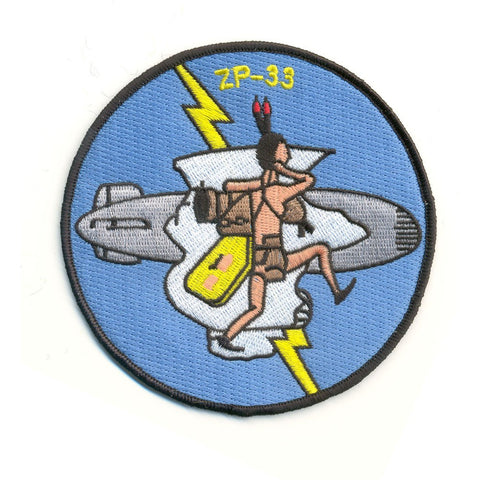 ZP-33 Aviation Airship Patrol Squadron Patch