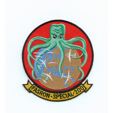 FASRON-200 Fleet Air Service Squadron Two Hundred Patch