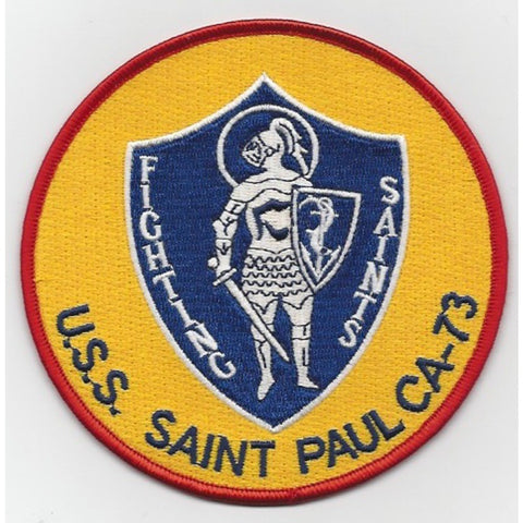 CA-73 USS Saint Paul Patch