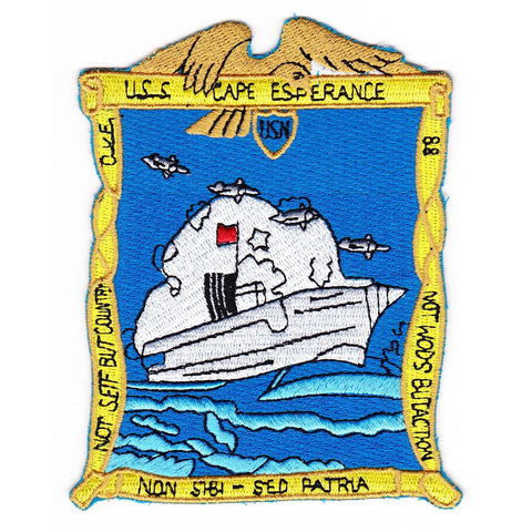 CVE-88 USS Cape Esperance Patch