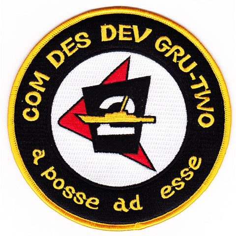 2nd Comdesdevgru Destroyer Development Group Patch