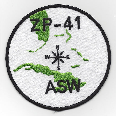 ZP-41 Aviation Airship Patrol Anti Submarine Warfare Squadron Patch