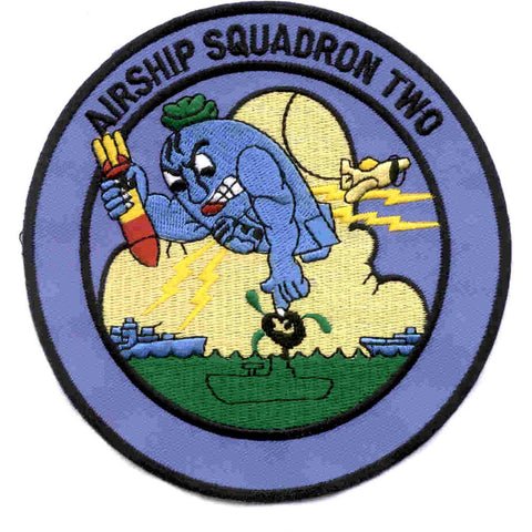 ZP-2 Aviation Airship Patrol Squadron Two Patch