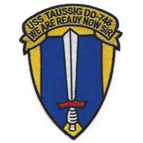 DD-746 USS Taussig Patch - Version B