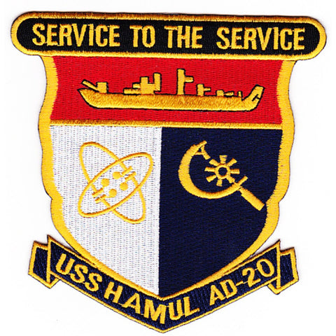 AD-20 USS Hamul Patch
