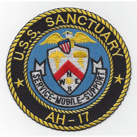 AH-17 USS Sanctuary Patch
