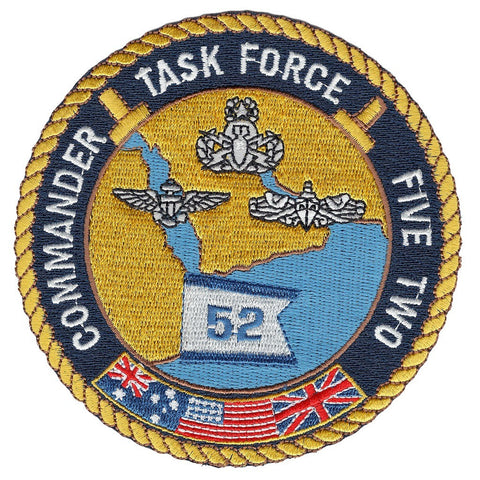 Commander Task Force Five Two TF 52 Military Patch