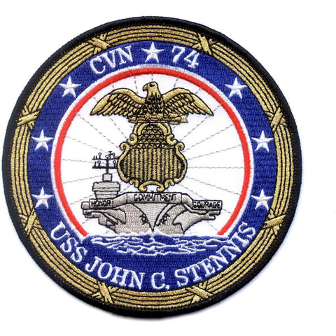 CVN-74 USS John C. Stennis Aircraft Carrier Patch