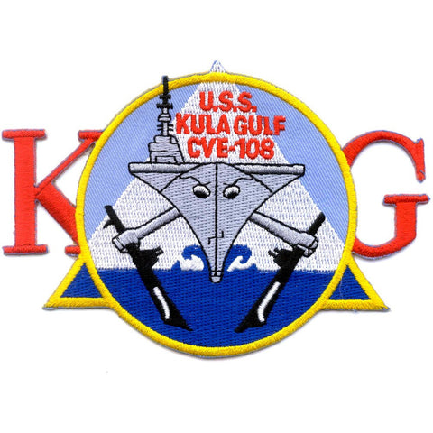 CVE-108 USS Kula Gulf Aircraft Carrier Patch