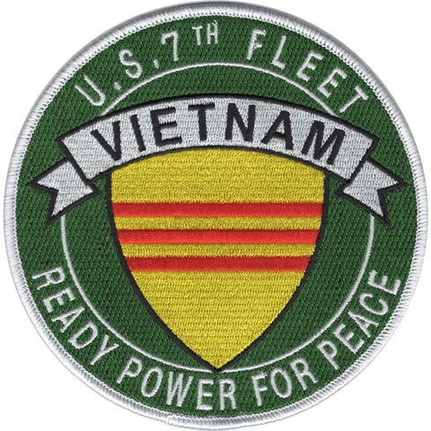 7th Fleet Vietnam Ready Power For Peace Patch