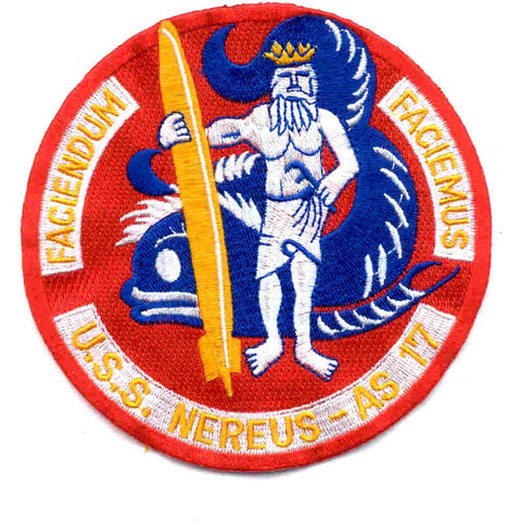 AS-17 USS Nereus Patch