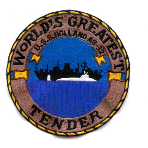 AS-32 USS Holland Patch