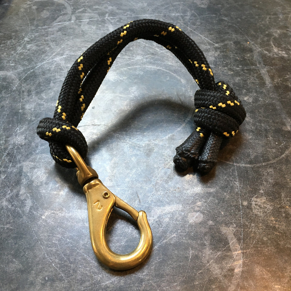 Z-Lab Short Leash Lanyard Keychain