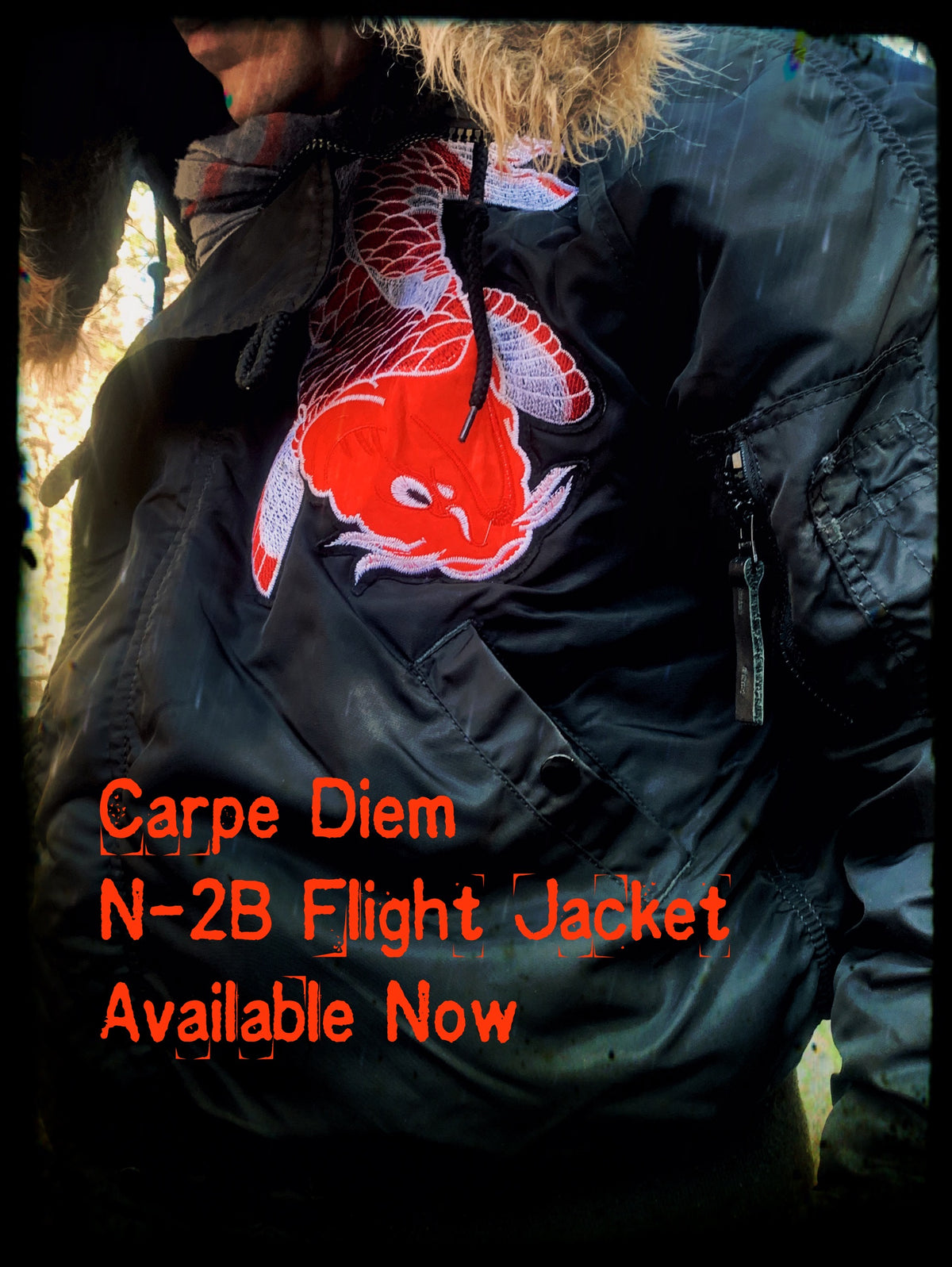 "Carpe Diem N-2B ""Snorkel"" Flight Jacket -Limited Edition 49 only"
