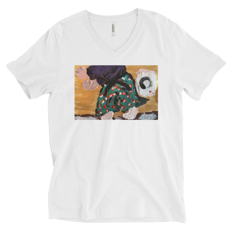 """Samurai Practicing Budo with Enso"" T-Shirt Fall 17"