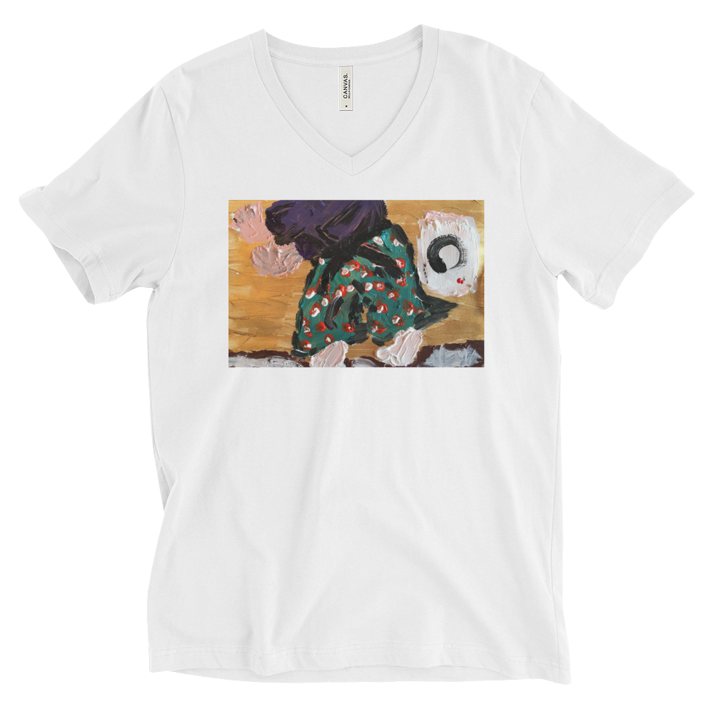 """Samurai Practicing Budo with Enso"" T-Shirt"