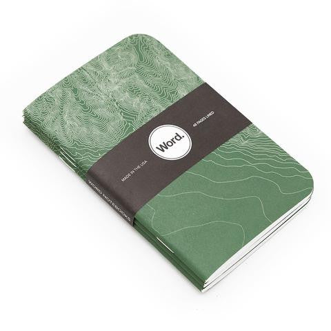 Z- Lab Word Notebooks 3 Pack