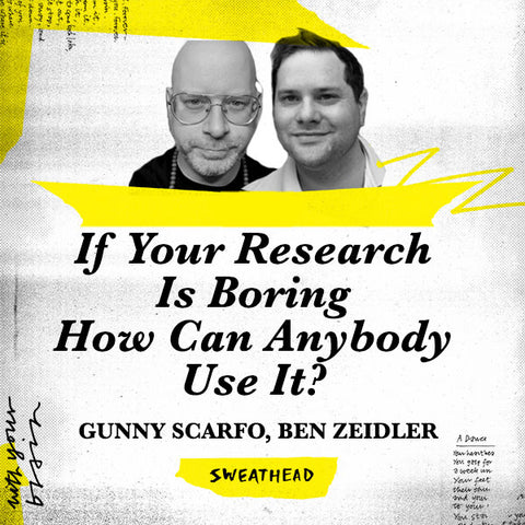 If Your Research Is Boring How Can Anybody Use It? - Gunny Scarfo, Ben Zeidler, Nonfiction