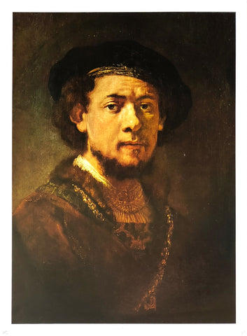 Rembrandt - Self Portrait Art Print - 18x24 - West Coast Picture Frames LLC