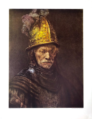 Rembrandt - Der mann mit dem goldhelm Art Print - 19.5x26 - West Coast Picture Frames LLC