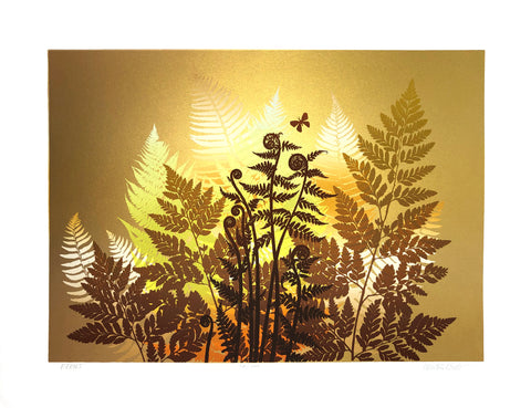 Walton Butts - Ferns - 20x26 - West Coast Picture Frames LLC
