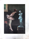 Ballet Series - Le monde de la dance - Art Print set - Juan Giralt Lerin - West Coast Picture Frames LLC