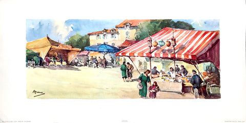 Country Fair - A. Marc by Stehli Freres Art Print - Serie 1143 - #4 - 25x12.5 - West Coast Picture Frames LLC
